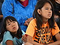 Young Gwich'in Girls - Midway Lake Music Festival - Near Fort McPherson - Northwest Territories - Canada.jpg