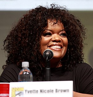 Yvette Nicole Brown - Brown at the San Diego Comic-Con International in July 2013