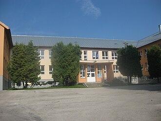 Elementary school - Elementary school in Višňové (Slovakia).