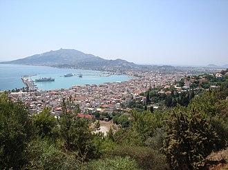 Zakynthos - View of Zakynthos City