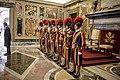 Zoran Zaev's trip in The Vatican city - Swiss guards - 5.jpg