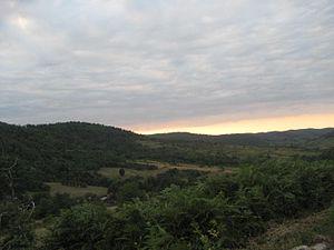 Zrinska gora - Panoramic view of the mountain