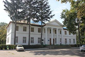 Branicki (Korczak) - Image: Zymovyi palac branyckich