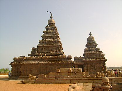 """A Beautiful Architecture of Shore Temple of Mamallapuram"".jpg"