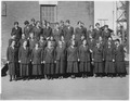 """A group shot of yeomanettes from the Supply Department, US Navy Yard, Mare Island, CA."" - NARA - 296897.tif"