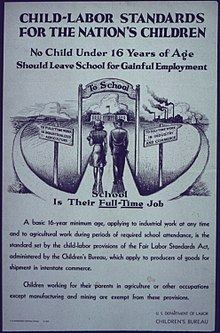 the debate about child labor in the united states Child labor - history of child labor practices in the united states.