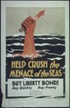 """""""Help Crush the Menace of the Seas. Buy Liberty Bonds. Buy Quickly- Buy Freely. Rainbow Division Special Liberty Loan... - NARA - 512635.tif"""