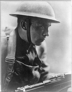 Doughboy American infantryman in World War I