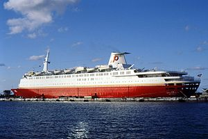 "Premier Cruise Line - Image: ""Star Ship Atlantic"" Nassau, 1989"