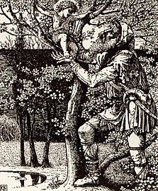 """""""The Selfish Giant"""" from the """"The Happy Prince"""" - The art of Walter Grane (page 180 crop).jpg"""