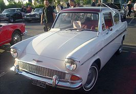 Ford Anglia coupe (North America) uit 1965