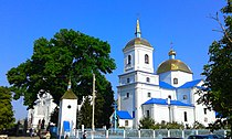 (04) WIKIMEDIA ORTHODOX CATHEDRAL CITY OF BAR VINNYTSIA REGION STATE OF UKRAINE 20150816.jpg