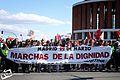 «Madrid, 22 de marzo. Marchas de la Dignidad. No al pago de la deuda ilegítima» - Llegada a Atocha desde Rivas-Vaciamadrid - panoramio.jpg