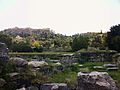 Àgora d'Atenes amb l'Acròpoli al fons.JPG