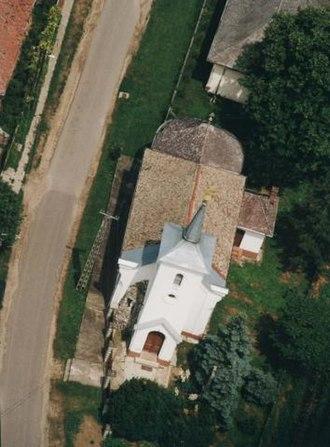 Álmosd - Aerialphotgraphy: Álmosd - temple