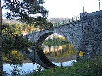 Åmli - Nidelva river in Åmli