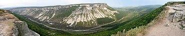 Çufut Qale Panorama (Klymenko).jpg