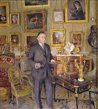 David David-Weill - Édouard Vuillard, David David-Weill, 1925. Oil on canvas. The Jewish Museum.