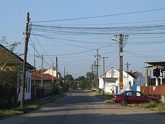 Valea lui Mihai - Image: Érmihályfalva (Valea lui Mihai) street