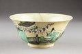 Östasiatisk keramik. Skål. Qing dynastin, Kangxi - Hallwylska museet - 95935.tif