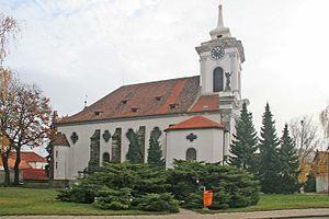 Český Brod - St. Gotthard's church, Český Brod