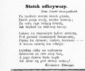 Życie. 1898, nr 20 page04-3 Tetmajer Kazimierz.png
