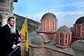 Επίσκεψη ΥΠΕΞ Δ. Δρούτσα στο Άγιο Όρος FM Droutsas visits Mount Athos (3-4.06.2011) (5795573813).jpg