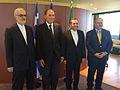 Συνάντηση ΑΝΥΠΕΞ, Ν. Ξυδάκη, με τον Ιρανό ΥΦΥΠΕΞ, αρμόδιο για Ευρωπαϊκές Υποθέσεις, Ματζίντ Ταχτ-ε-Ραβαντσί (Αθήνα, 13.7.2016) (27671092803).jpg