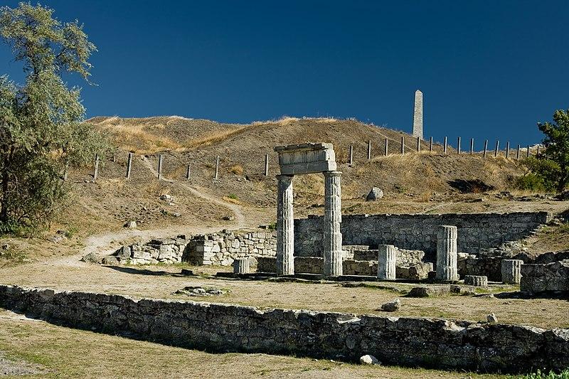 File:Архітектурно-археологічний комплекс «Стародавнє місто Пантікапей».JPG