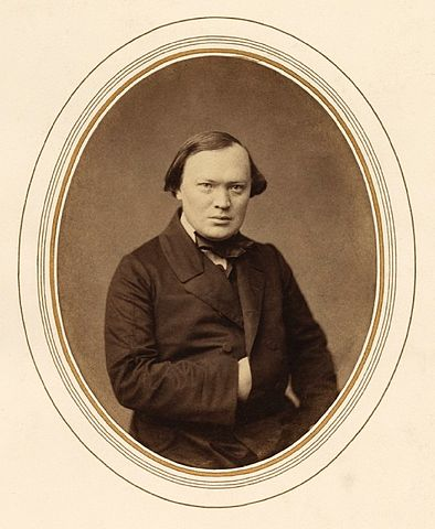 А.Н.Островский, 1856г.