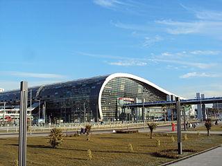 Neuer Bahnhof Adler