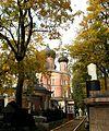 Большой собор Донской иконы Божией Матери Донского монастыря. Вид со стороны некрополя.JPG