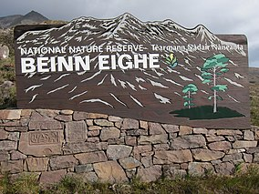 Beinn Eighe National Nature Reserve signage