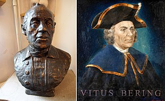 Vitus Bering - post-mortem reconstruction of Bering's face