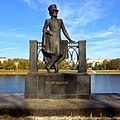 Городской сад. Памятник А.С. Пушкину, Тверь - panoramio.jpg