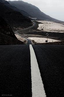 Дорога Википедия Дорога в холмах