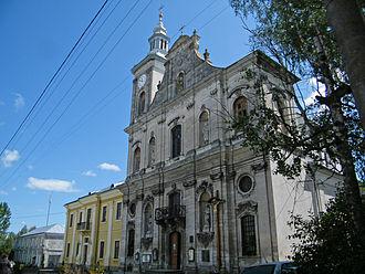 Zolochiv - Image: Золочев. Успенский костел