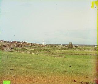 Kamyshlov Town in Sverdlovsk Oblast, Russia