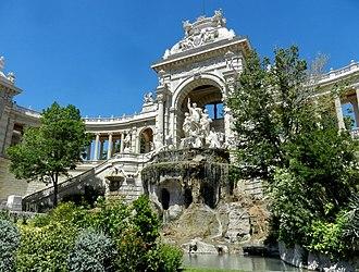 Palais Longchamp - Palais Longchamp Fountain
