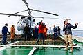 Работа иностранных журналистов на кораблях постоянной группировки ВМФ России в Средиземном море (2016-01) (17).jpg