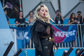 Svetlana Loboda Ukrainian singer