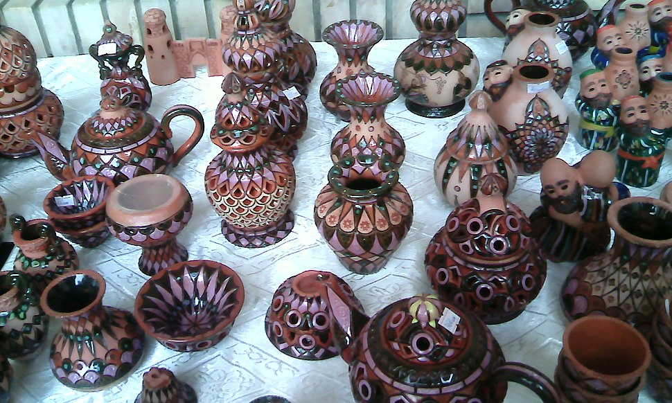 Сlay toys artisans Tajikistan 1