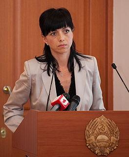 Tatiana Turanskaya Transnistrian politician