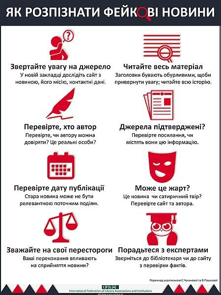File:ЯК РОЗПІЗНАТИ ФЕЙКOВІ НОВИНИ (How To Spot Fake News).jpg