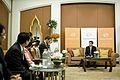 สัมภาษณ์นายกฯ นายกรัฐมนตรี กล่าวสุนทรพจน์เปิดงานและต - Flickr - Abhisit Vejjajiva (8).jpg