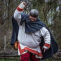 """""""Military Through the Ages,"""" March 19-20, 2016, at Jamestown Settlement, Jamestown, Virginia. Re-enactors explaining history have been meeting each year at Jamestown Settlement since 1984. 2016's (25797248912).jpg"""