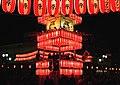 桐生八木節まつり, Kiryu Honcho Street in the Festival - panoramio.jpg