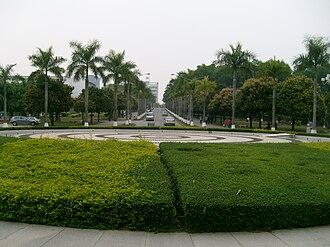 Shenzhen University - Garden and road