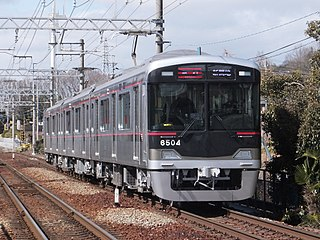 Shintetsu 6500 series Japanese train type