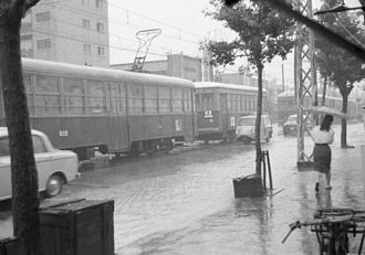 Kobe Municipal Transportation Bureau - Kobe City Tram, 1961